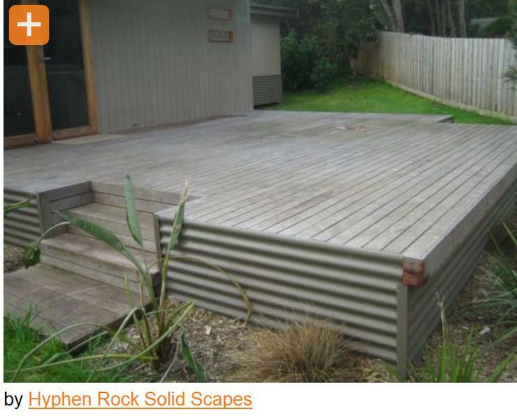 10 Images About Deck Underpinning Skirting On Pinterest