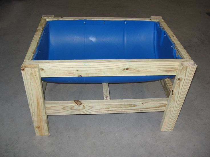 Designed as a feeder, but would it not be great as a raised bed? Take that, gophers!
