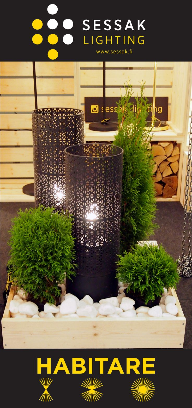 Maison outdoor floor lamps on Habitar 2016.