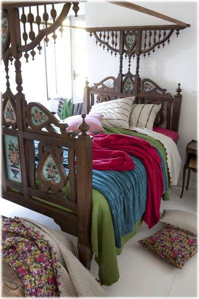brilliant wooden boho bed frame queen