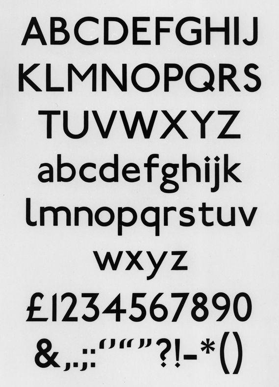 Johnston, alphabet print c.1917