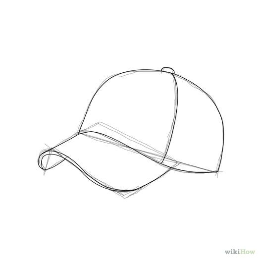 Line Drawing Hat : Best images about drawing hats on heads pinterest