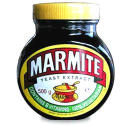 The Missouri Marmite Museum celebrates the world's most famous love-it/hate-it item: a yeast extract made from the dregs found at the bottom of British beer barrels, and sold in adorable brown glass jars.