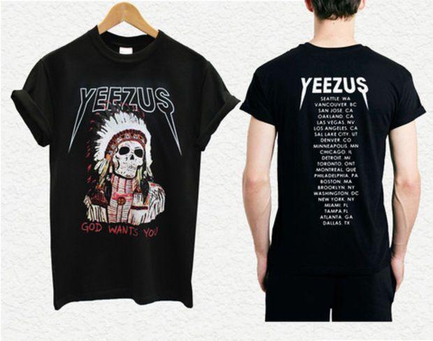 yeezus shirt yeezus indian skeleton yeezus tour shirt kanye west 8 #shirt #tshirt #unisexclothing #awsome