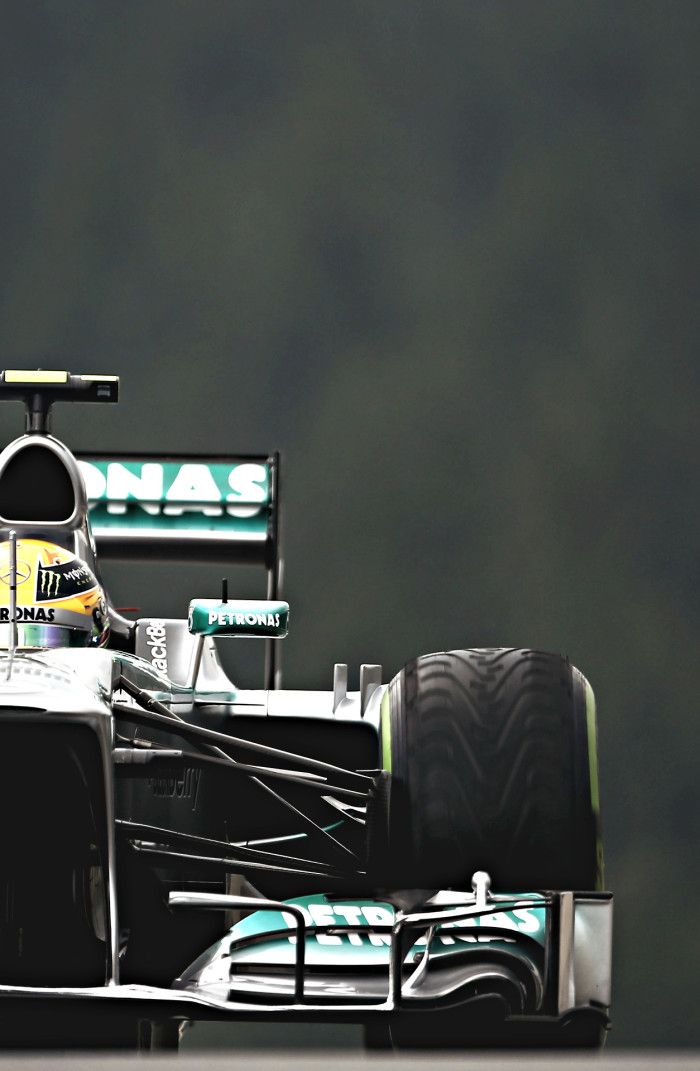 Mercedes F1 W04 2013