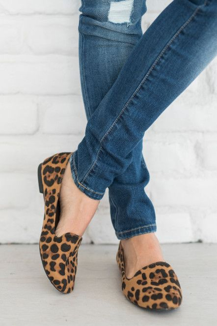 Leopard is a neutral. Leopard pairs well with all things Fall. These are comfortable and run TTS.