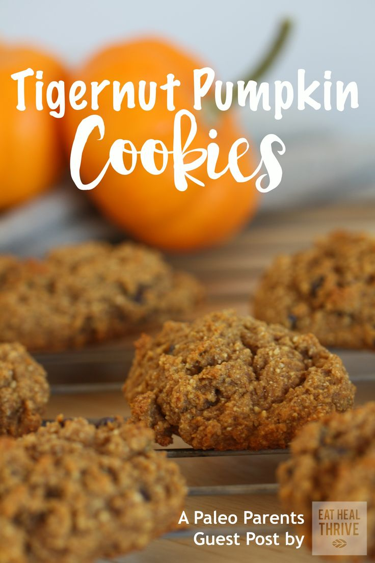 nut-free Tigernut Pumpkin Cookies