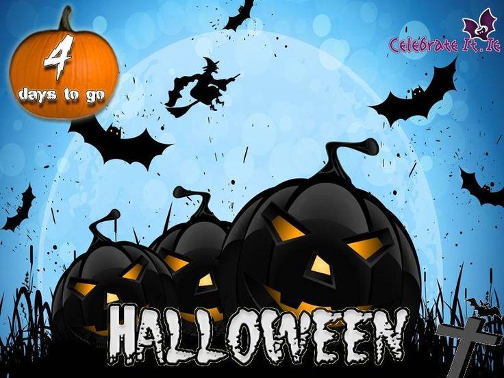 halloween countdown 4 days to go scaring and fun ideas to make your halloween night bootiful boo