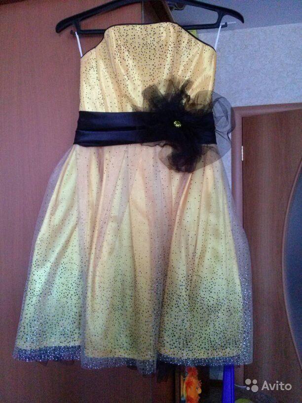 купить платье на девочку на авито