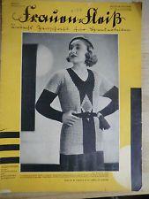 Frauen-Fleiß Handarbeitszeitung Heft 5/ Jahrgang 1931/31 ohne Beilagen