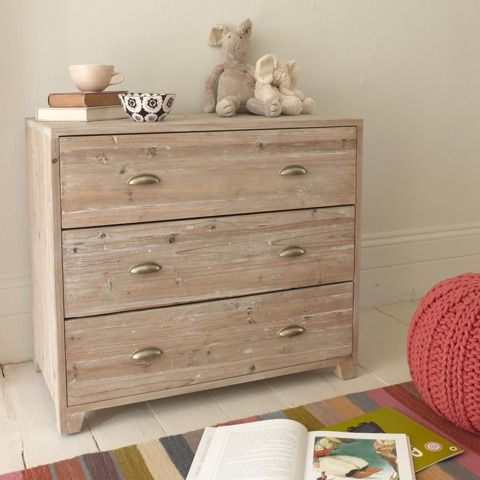 NUTKIN: The first thing our Charlie did when he saw this reclaimed fir chest of drawers was to bury his nose in it and smile! Something to do with the quality of the wood and beeswax apparently. #chestofdrawers #furniture