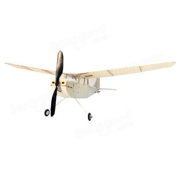 MinimumRC Cessna L-19 460mm en bois de balsa en bois découpé au laser RC avion KIT Vente - Banggood.com