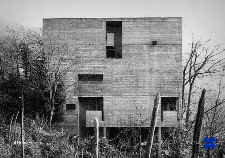 247. Aurelio Galfetti /// Casa Rotalinti /// Bellinzona, Switzerland /// 1959-61