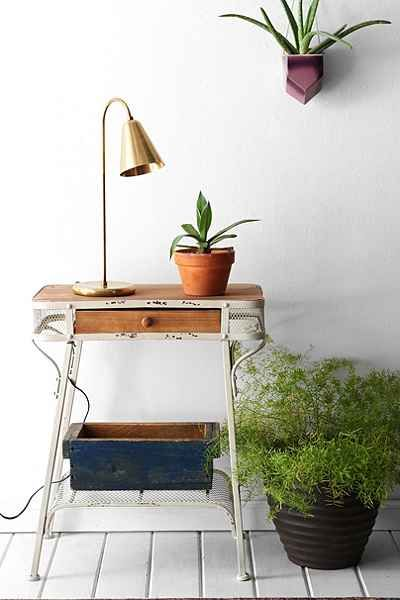 Grayson Entryway Table - Urban Outfitters  (reviews aren't so great, but i could find something with a similar look i'm sure)