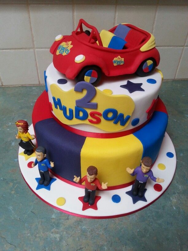 Cake Decorating Yarraville : The 25+ best Wiggles cake ideas on Pinterest Bright birthday cakes, Wiggles birthday and ...