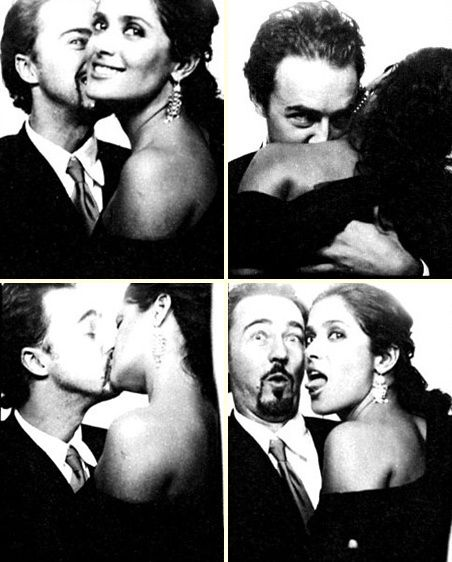 Edward Norton and Salma Hayek.