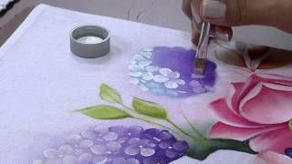 Pintando Rosas Magníficas | Cantinho do Video