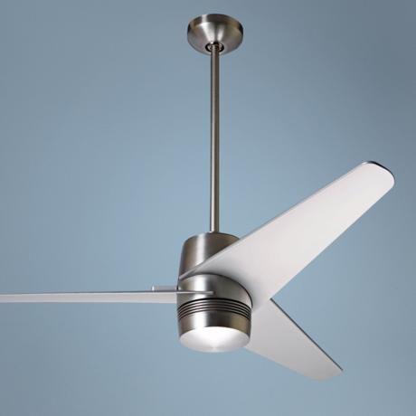 """50"""" Modern Fan Company Velo Ceiling Fan, May be too modern, but I like it"""