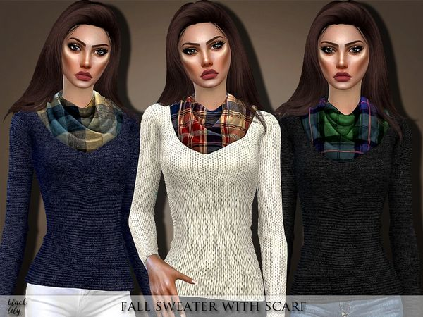 sims 4 cc // custom content clothing // the sims resource // Black