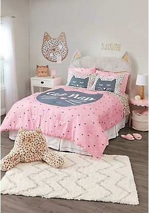 Tween Girlsu0027 Bedding, Bed Sets U0026 Cute Pillows | Justice
