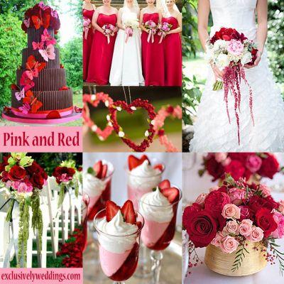 Pink Wedding Color U2013 Twelve Perfect Combinations