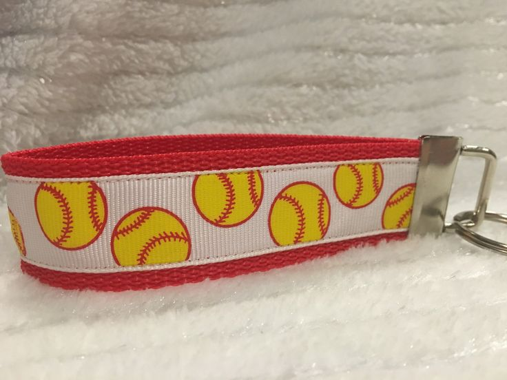 Do you love softball? Do you know someone who loves softball? If you said, yes, then this is the perfect gift- and an awesome place for keys- the perfect keychain! This keychain not only holds your ke