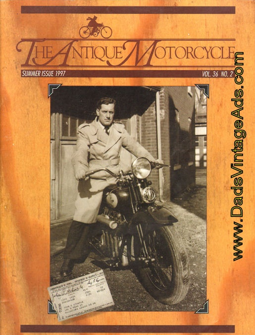 Antique Motorcycle Cover Story – The John Scharle Story – A Lifetime Affair with the Henderson Four