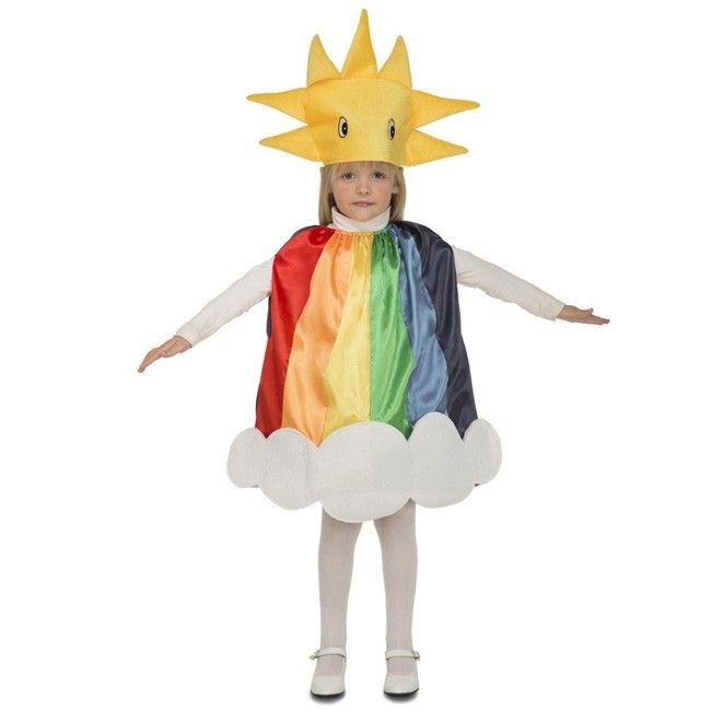 Disfraz de Arco Iris para niño y niña #disfraces #carnaval #novedades2017