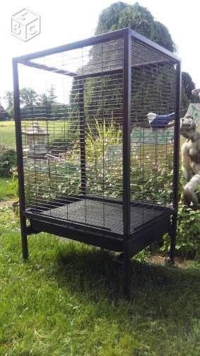 Cage perruche 75x60x90