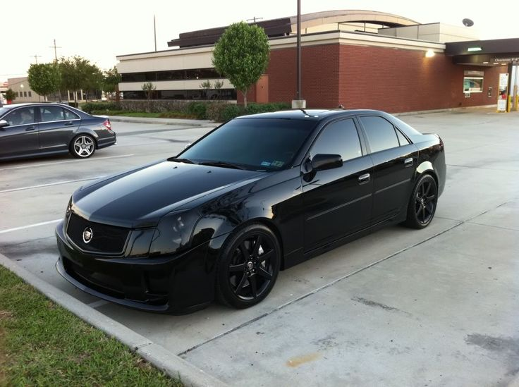 Gauging Interest: 2004 Cadillac CTS-V (murdered out)....