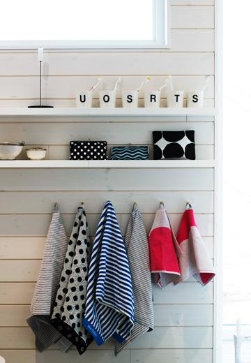 shiplap with shelves/hooks