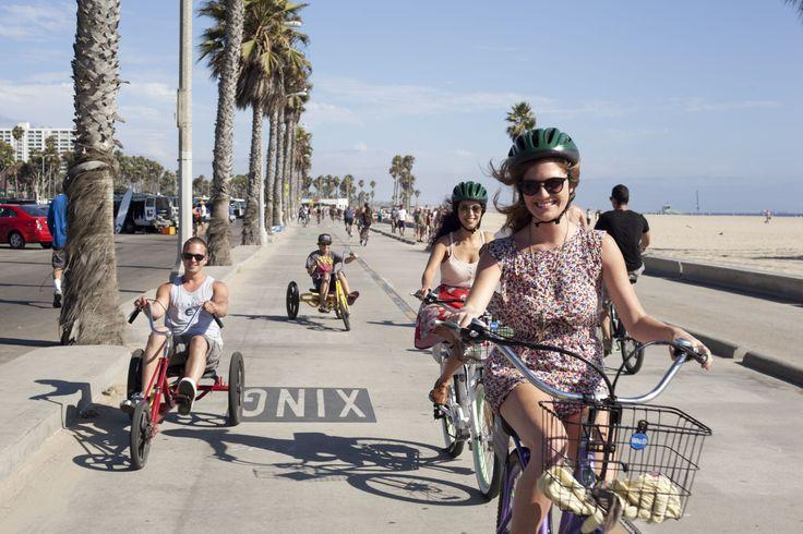 Santa monica and venice beach bike tour