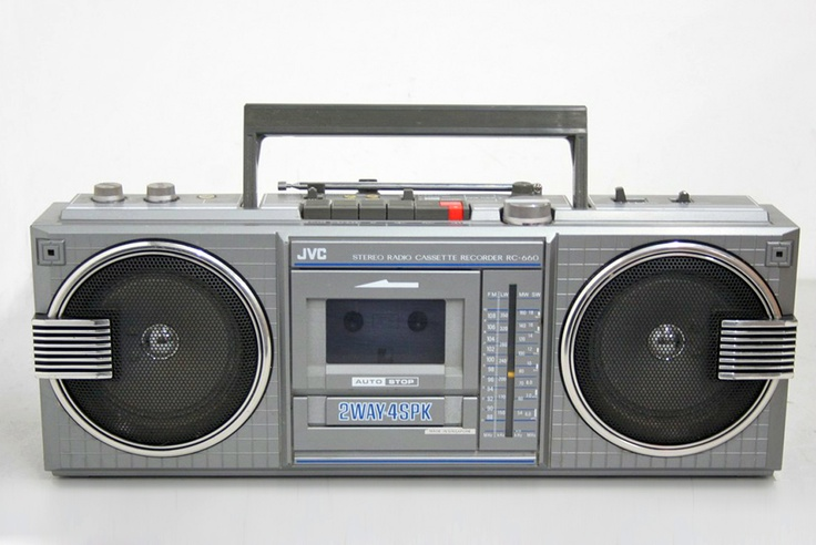jvc boombox vintage electronics pinterest boombox vintage and the o 39 jays. Black Bedroom Furniture Sets. Home Design Ideas