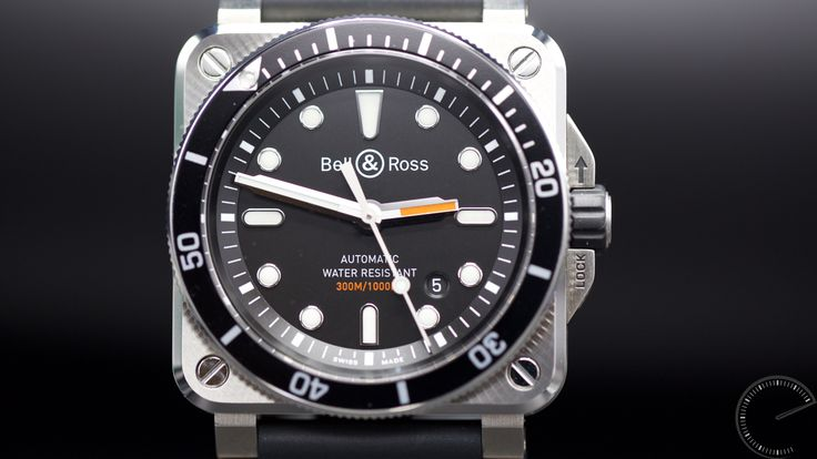Fair and Square.  The Bell & Ross  BR 03-92 Diver upholds the reputation this company has for making divers' watches of great repute. Moreover, given its impressive specification, this new square watch is offered at a very agreeable price.  http://www.escapementmagazine.com/articles/bell-ross-br-03-92-diver.html/