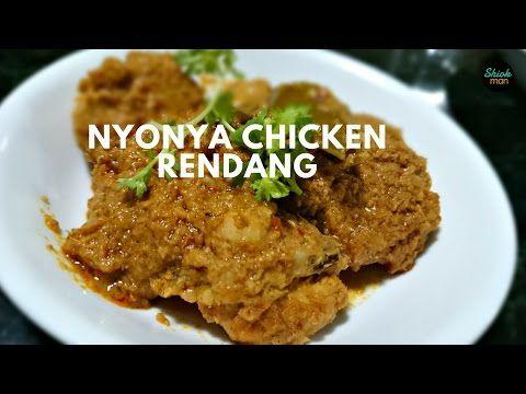 (Peranakan) Nyonya Chicken Rendang   SHIOKMAN RECIPES