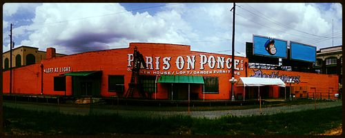 Paris on Ponce - Atlanta, Georgia  #Atlanta #Cycloramic #ParisonPonce #ATL #photography #iPhoneography #photoediting