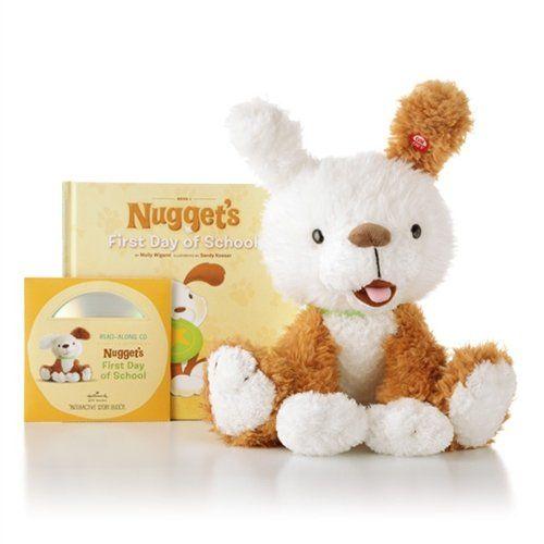 "Nugget, Hallmark Interactive Storybook Buddy with ""First Day of School"" Book Included Free! Hallmark http://www.amazon.com/dp/B0077DYBDK/ref=cm_sw_r_pi_dp_NlUiub1ATQHDH"