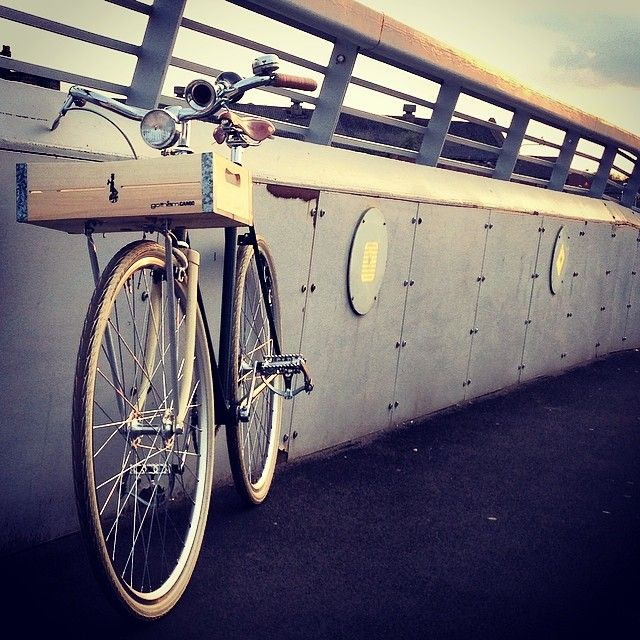 A fine day! Submit your fotos with your own crate at info@gothamcargo.com