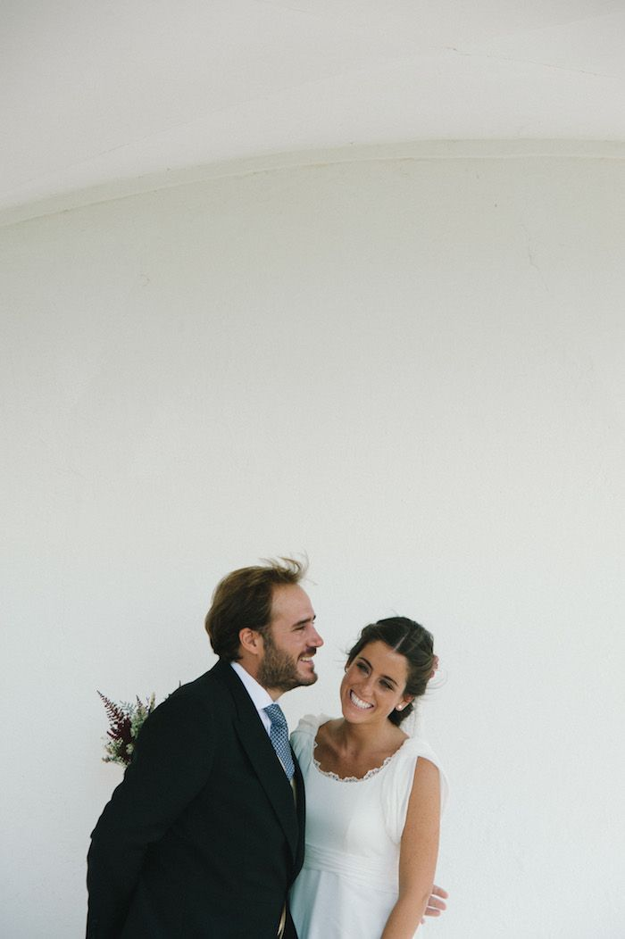Patricia, un vestido de gasa | Sole Alonso