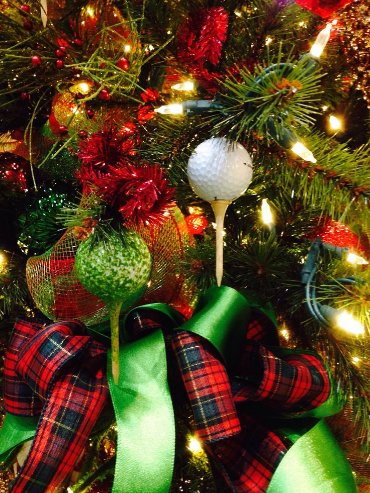 Golf Theme 2013 Christmas Tree Elegance | Golf theme ...
