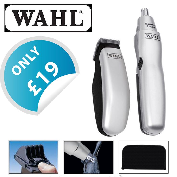 Complete grooming kit, ideal for home and travel; Battery operated trimmer ideal for beards, stubble, facial hair, necklines and sideburns! Only for 19 Pounds!  http://ebay.eu/2nDiIic  #wahl #kit #grooming #hair #trimmer #beard #shop #ebay