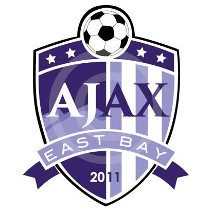 AJAX East Bay Soccer - #logodesign #youthsoccer #graphicdesign