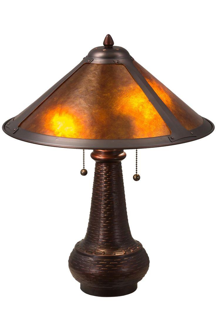 21 inch h van erp table lamp