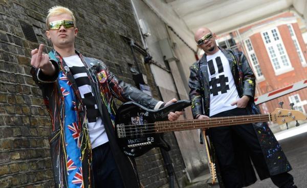 2KM2 Mike and Chris; Studio Session, London, UK 2012 by Sasha Gusov (www.gusov.com)
