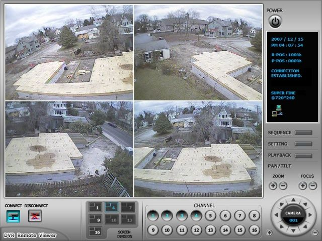 Construction Site's Wireless Surveillance Camera System by Lighthouse Video Surveillance