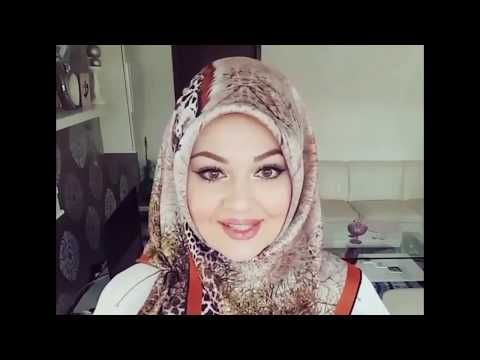 Turkish Hijab Style Tutorial 2017 - Part 6 - YouTube