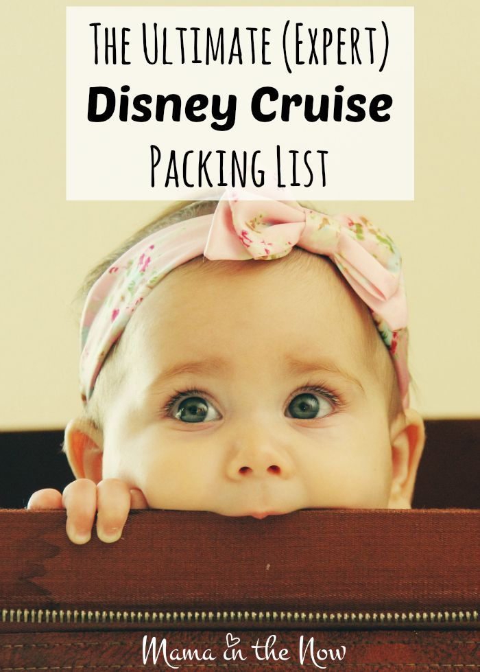 The ultimate (expert) Disney Cruise packing list, from a veteran Disney-cruiser and mother of four boys. Don't leave home without these all too important items that you probably haven't thought to pack!