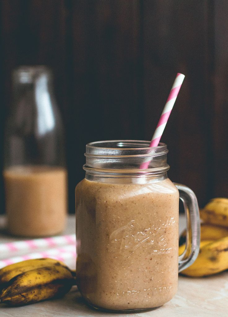 Peach Ginger Smoothie | thehealthfulideas.com