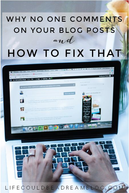 Why no one comments on your blog posts and how to fix that! #bloggingtips