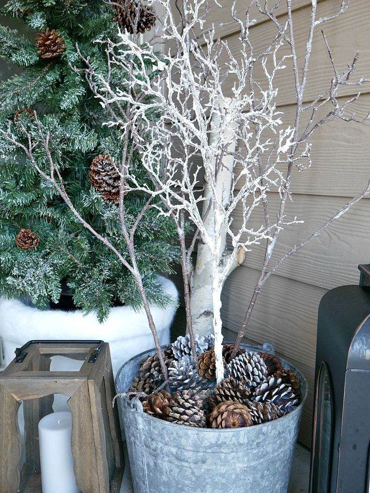 Winter Outdoor Decorating Ideas & Outdoor Christmas ...